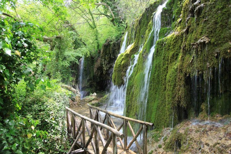 drimonas waterfalls evia greece | Avantis Suites Hotel